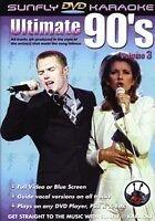 ULTIMATE 90's VOL 3  KARAOKE MULTIPLEX DVD 12 HIT SONGS