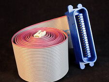 Spectra Strip Flat Ribbon cable w/ Amphenol 57F-36 connector 60 inches long