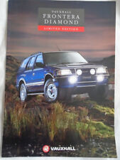 Vauxhall Frontera Diamond Limited Edition brochure Oct 1993