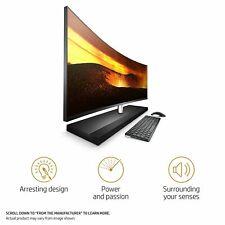 HP Envy Curved 34-b120se All in One AIO PC i5-8400t Quad 16GB 1TB 4GB GeF 1050