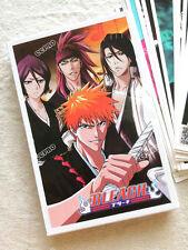 30pcs post cards w/Anime BLEACH Kurosaki ichigo/Ishida/Kuchiki Rukia/Toushirou
