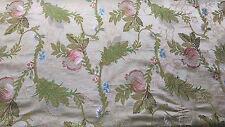 Antica stoffa broccato tessitura jacquard,non stampata,storica manifattura