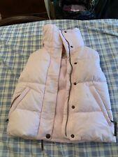 Ugg Australia Girls Down Chalet Vest Baby Pink Size 7