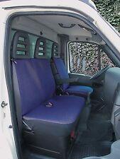 Sitzbezug Transporter Universal Como Blau Doppelsitz Traffic Bezüge Schonbezug