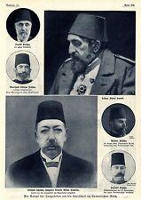 Kampf der Jungtürken um die Herrschaft im Osmanischen Reich * Bilddokumente 1909
