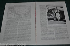1932 magazine article, FLYING THE WORLD in homemade airplane