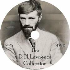 D. H. Lawrence Poetry Audiobook Collection in English on 1 MP3 DVD Free Shipping