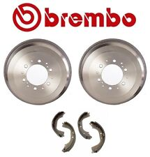 NEW Rear Brake Drums and Shoes Kit Brembo For Toyota 4Runner Tacoma T100 Tundra