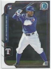 Delino DeShields Texas Rangers 2015 Bowman Chrome Rookie Card *