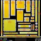 lampadine a LED CHIP integrato cob strip light per Lampada proiettore 9 - 40V