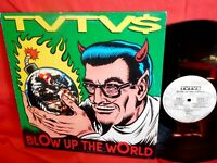 TVTV$ Blow Up The World LP 1993 ITALY MINT garage psych PUNK