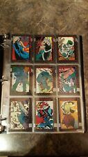 Doomsday The Death of Superman & Funeral for A Friend Base Card Set Near Mint