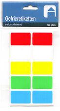 étiquettes de congélateur geler Aliments Surgelés couleurs assorties
