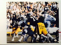 Pittsburgh Steelers Autographed Signed Joe Greene 16 x 20 Photo JSA