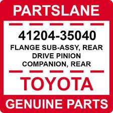 41204-35040 Toyota OEM FLANGE SUB-ASSY, REAR DRIVE PINION COMPANION, REAR