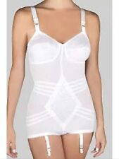 Rago Body Briefer 9051 All in one garters White 48D  NEW (MADE IN USA)