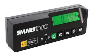 SmartTool Pro Digital Inclinometer - Protractor 0.05° High Resolution Sensor
