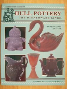 VINTAGE HULL POTTERY PRICE VALUE GUIDE COLLECTORS BOOK