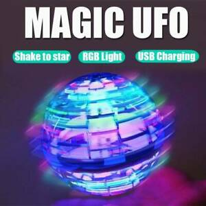Pro Flying Ball Space Hand Magic Mini Drone UFO Boomerang Boy Girl Toy Gifts ✅