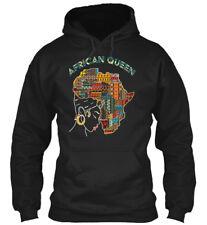 4-17 African Queen - Gildan Hoodie Sweatshirt