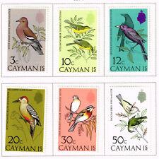 British Cayman Islands Fauna Birds set 1974 MLH