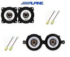 ALPINE SXE-1025S SXE-0825S KIT 4 CASSE ALTOPARLANTI PER FIAT PUNTO 1 SERIE 93>99
