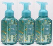 3 Bath & Body Works FROZEN LAKE Gentle Foaming Hand Soap