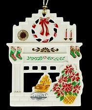 Vintage Lenox 1988 Holiday Homecoming Holiday Hearth Ornament
