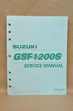 2001 Suzuki GSF1200S GSF1200 S K1 Bandit Shop Service Manual 99500-39200-03E