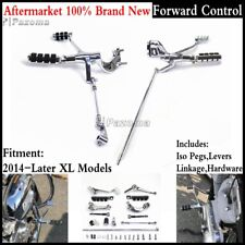 Forward Controls Levers Linkages For Harley Sportster 1200 Custom XL1200C 14-Up
