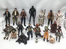 18 Hasbro Star Wars The Force Awakens Black Series Action Figures