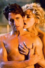 Sharon Stone Michael Douglas barechested erotic scene Basic Instinct Mini Poster