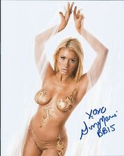 Ginamarie Zimmerman Big Brother autographed 8x10 photo with COA by CHA