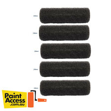 Paint Roller Cover/ Pack of 5 Oldfields Medium Texture Black Foam Rollers, 230mm