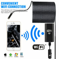 5M Waterproof WiFI Endoscope Borescope Inspection Camera for Smart phone PC WIN