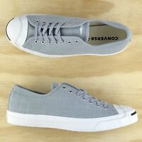 Converse Jack Purcell Signature Ox Pro Low Top Grey White Shoes 164800C Size