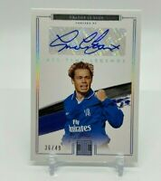 2020-21 Panini Impeccable Soccer GRAEME LE SAUX #/49 All Time Legend Auto