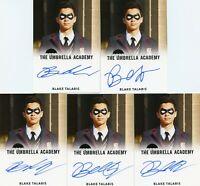 VL The Umbrella Academy season 1 Autograph card Blake Talabis as young Diego