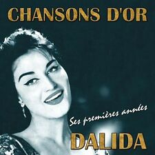 CD French songs : Dalida, Her early years / Import