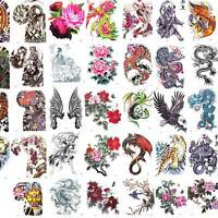 Large Temporary Tattoo Sticker Removable Waterproof 3D Fake Body Art 21 x 24 cm