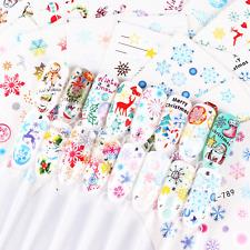Christmas Nail Art Sticker* Décoration d'ongle снежинка наклейки для ногтей