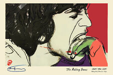 Rolling Stones Andy Warhol LOVE YOU LIVE Cover ART - A HQ 16x20 Poster Replica