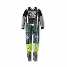 Circo Boys Sports Gear Tigers #15 Gray Footed Blanket Sleeper Pajama PJs - Large