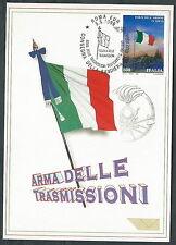1999 ITALIA CARTOLINA SPECIALE ROMA ARMA DELLE TRASMISSIONI - ED