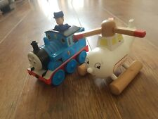 Thomas The Tank Friction Train And Wooden Harold