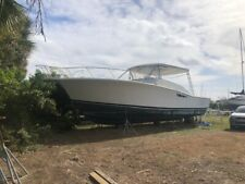 1995 Luhrs 40' Open Twin Cat Diesels !Project No Reserve Must See Clean Title !