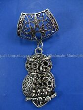 necklace scarf pendant owl pendant slide tube set