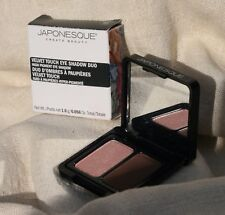 JAPONESQUE Velvet Touch High Pigment Eye Shadow Duo 1.6g Shade 02 New