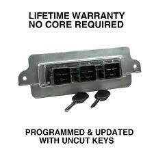 Engine Computer Programmed w Keys 2004 Mercury Mountaineer 4U7A-12A650-LDA PZU0