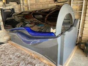 Ergoline 600 Avantgarde Turbo Sunbed Air Condition Commercial Used & Tubes